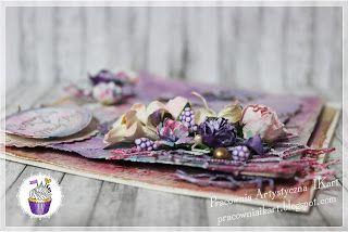 Pracownia artystyczna IKart: Romantyczny ślub (kartka)