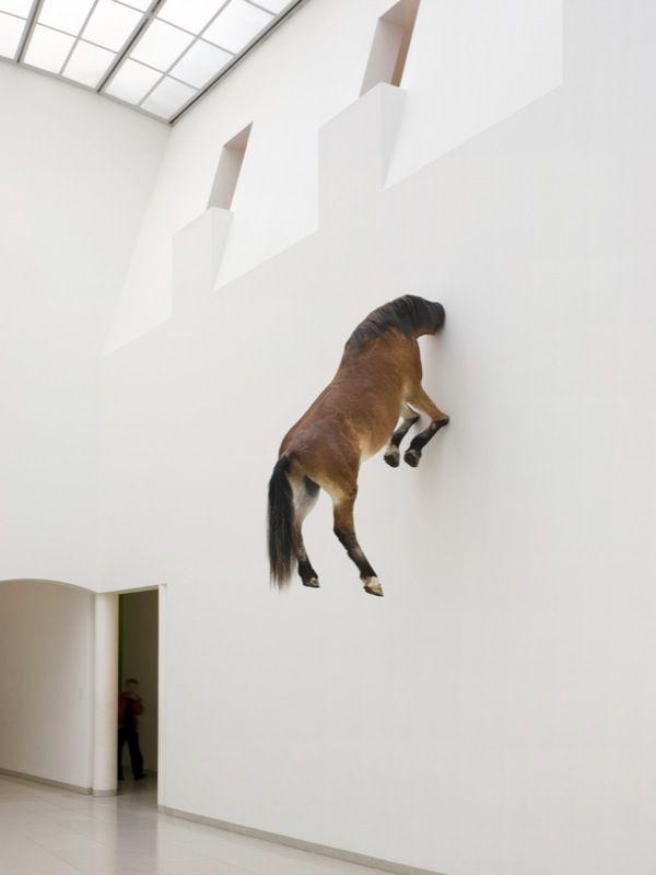 maurizio cattelan sculpture - Google Search