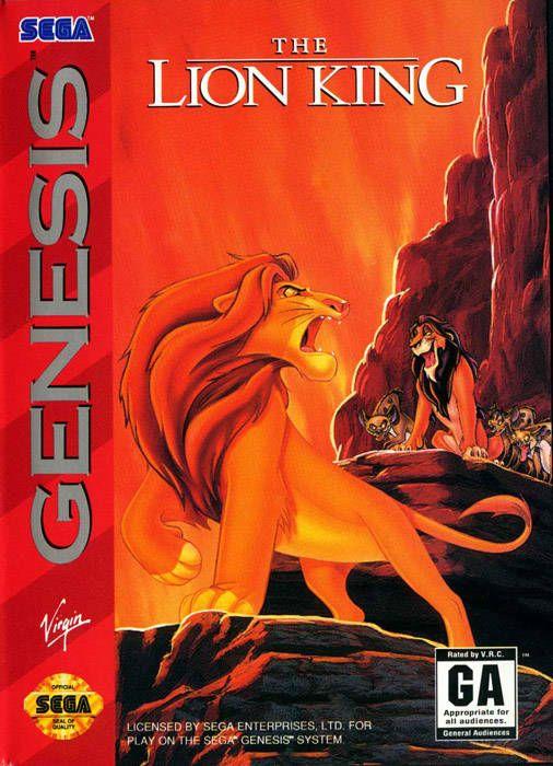 Lion King Sega Genesis
