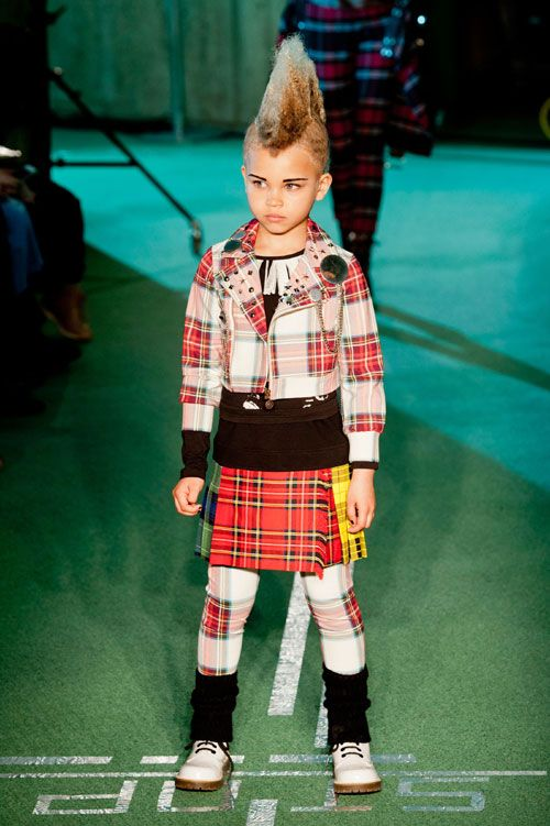 Jean Paul Gaultier toamna iarna 2014-2015 (22) - Elle.ro