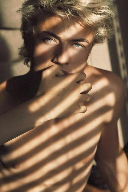 """Lucky Blue Smith] """"I'm Jai. I'm second in command around here and I expect to be treated with some respect. I'm 21 and still looking for the right mate. I was a trained assassin so it's not hard for me to kill you..."""""""