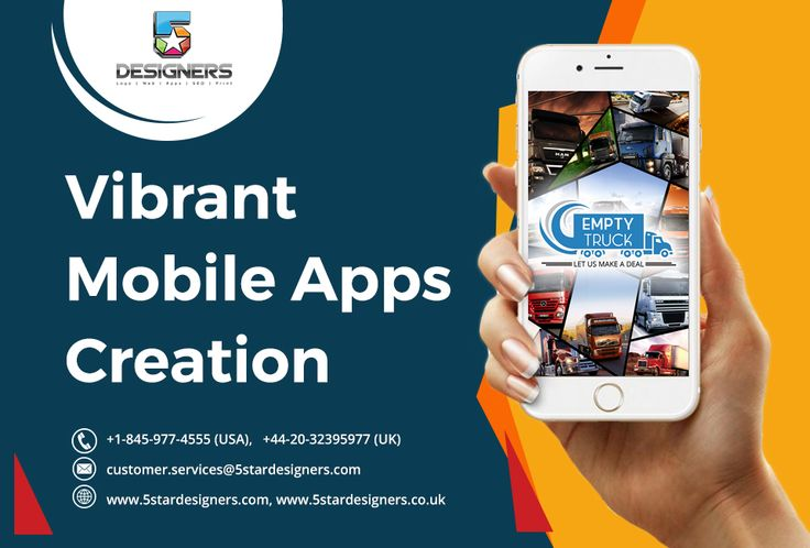 5StarDesigners! A Vibrant Mobile Apps Creation Firm.