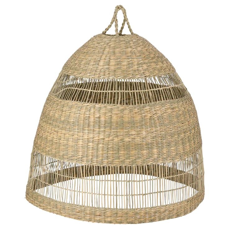 "TORARED Pendant lamp shade, seagrass, Height 20"" Diameter"