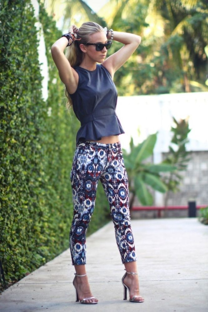 17 Best ideas about Printed Pants Outfits on Pinterest | Print ...