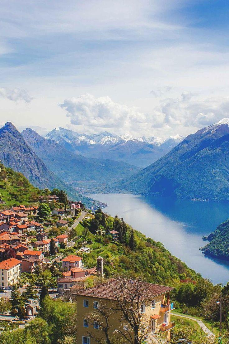 Monte Bre, Switzerland (by Corina Näf)