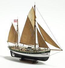Dana 1:60 Baukasten, Fischkutter von Nordseeland 390mm Krick 005-BB0200