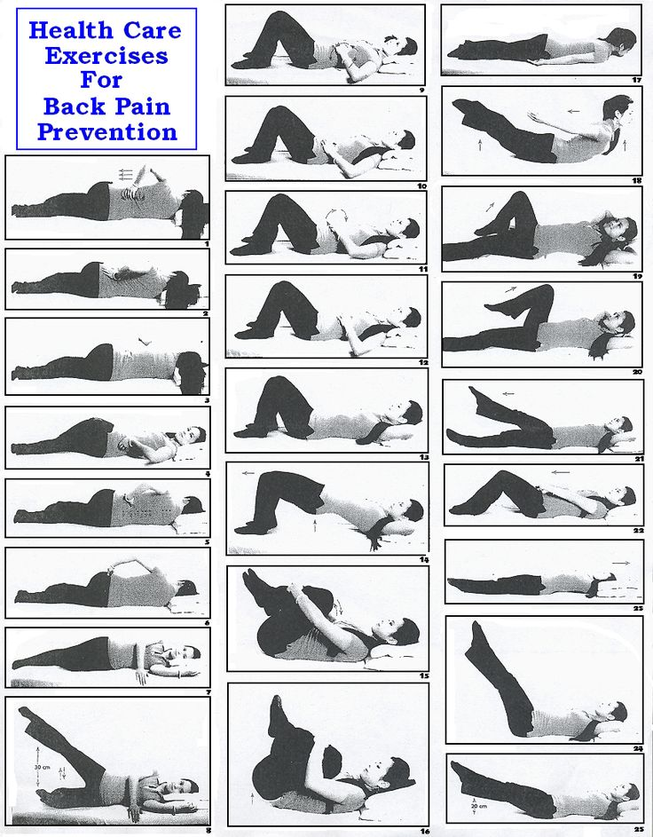 21 best low back pain exercises patient handout images on pinterest exercises work outs and. Black Bedroom Furniture Sets. Home Design Ideas