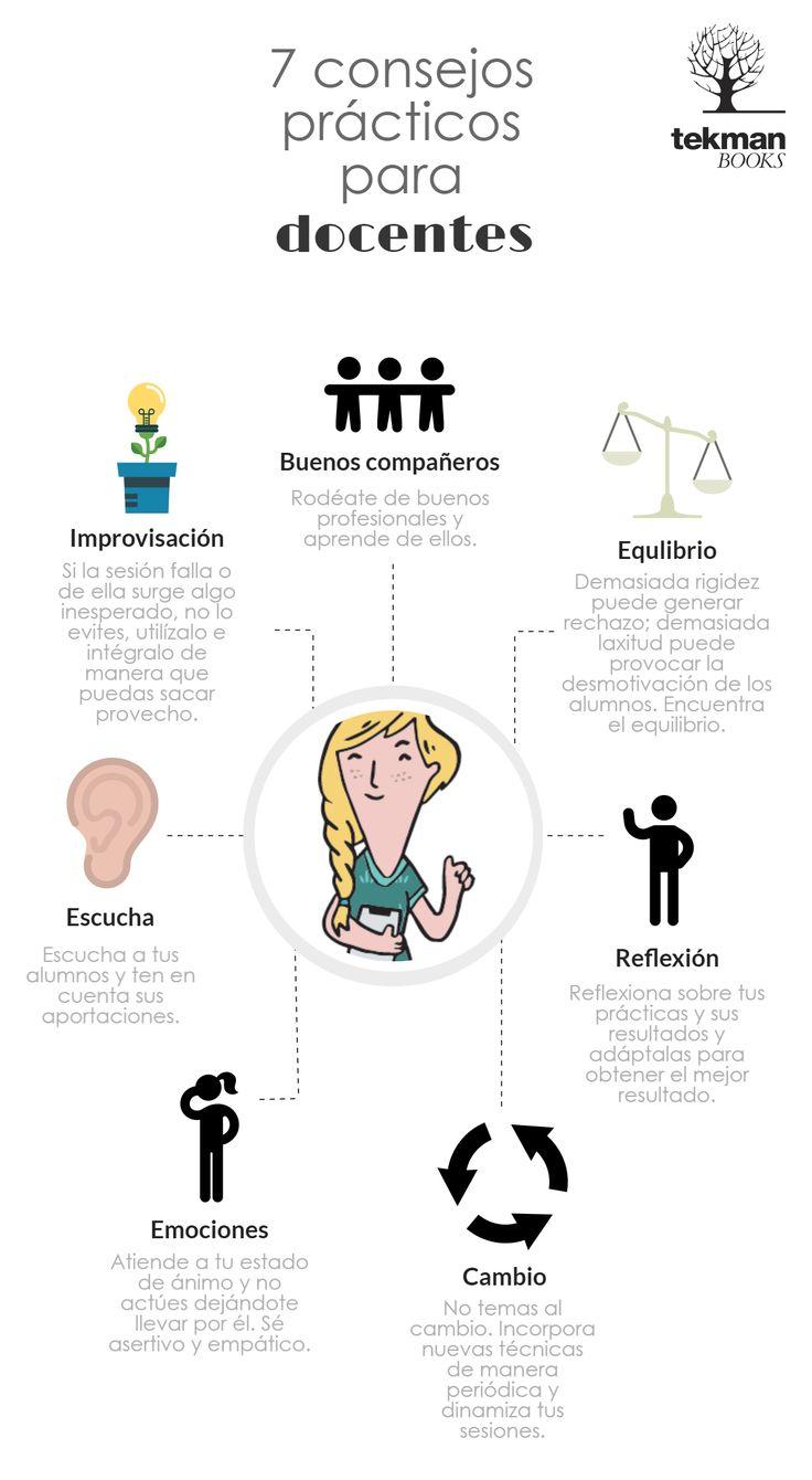 7 consejos prácticos para docentes en Blog de Educación y Pedagogía - tekman…