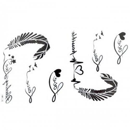 Las calcomanías de liberación nuevo tatuaje impermeable ...