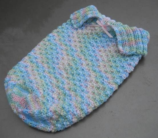 Knitted Baby Cocoons Free Patterns You Will Love Sleep Sacks