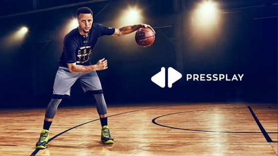 NBA star Stephen Curry ready to take on China with PressPlay     - CNET  Its now official: Stephen Curry is using tech to seek global domination on and off the basketball court.  The two-time NBA MVP is now the new face of PressPlay a Silicon Valley digital media startup that will soon offer exclusive video and features from the Golden State Warriors sharpshooter to fans in China. PressPlays app is scheduled for release in October just in time for the upcoming NBA season.    NBA star and…