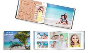 Groupon - Fotolibro rilegato con copertina rigida personalizzata fino a 60…