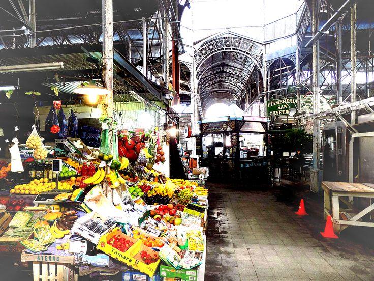 San Telmo Market.