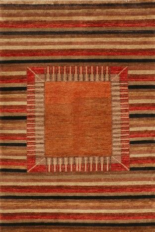 Multi Affordable Gabbeh Wool Rug GB-46 $300.00