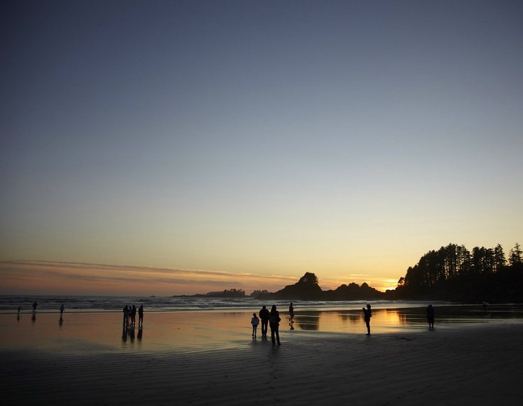 sunset on  Cox Bay, Tofino, BC  loved our stay at the Cox Bay Beach Resort