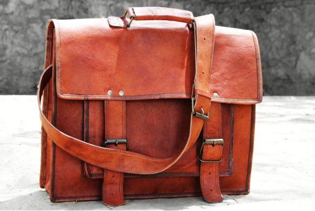 Messenger tassen - leder hobo tassen, bruin lederen tassen Laptop tas - Een uniek product van TheHumanEra op DaWanda