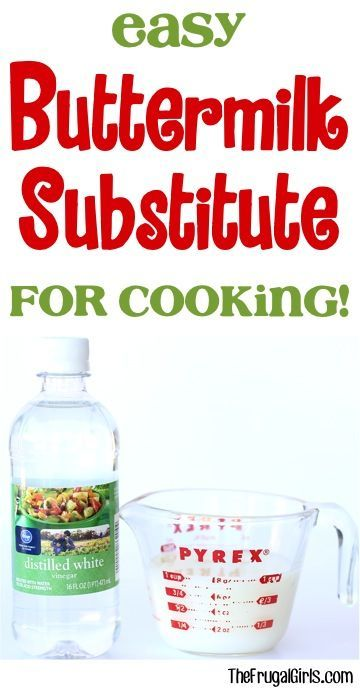 Easy Buttermilk Substitute! ~ from TheFrugalGirls.com ~ Buttermilk is one of those ingredients I never seem to have on hand, but when a recipe calls for it... here's the perfect Easy Buttermilk Substitute!