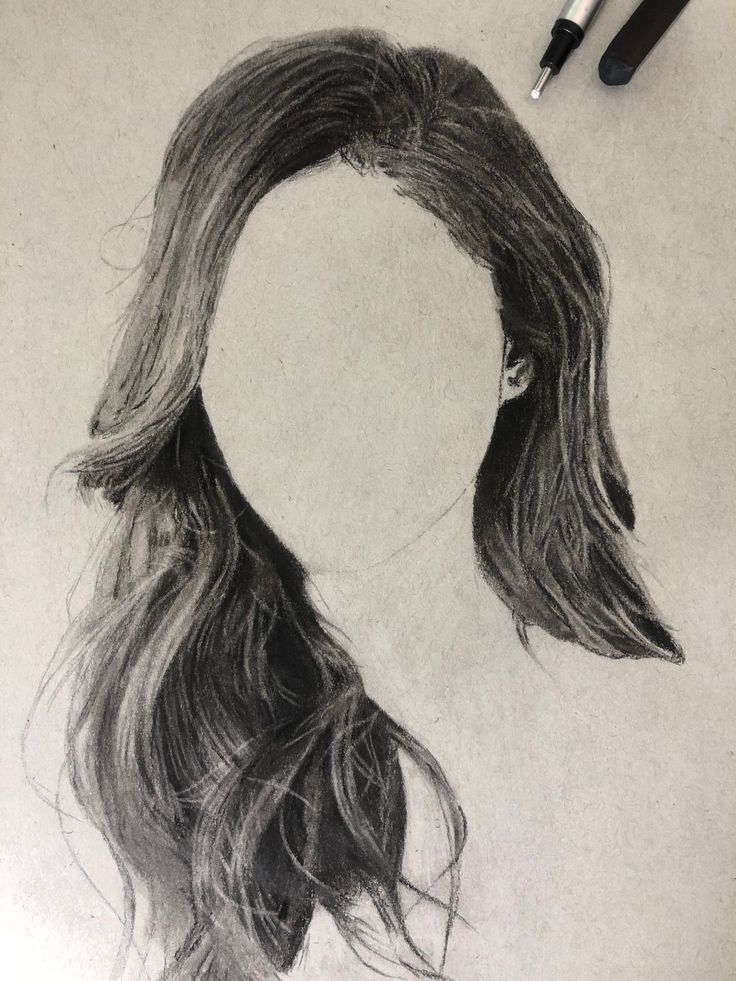 Drawing Hair With Charcoal  Ultimate Tutorial  Steemit