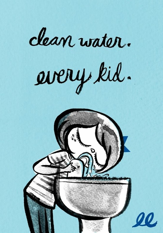 Happy International Water Day. Support policies that promote access to safe, fresh water. Every kid deserves a clean break. ♥ Lily