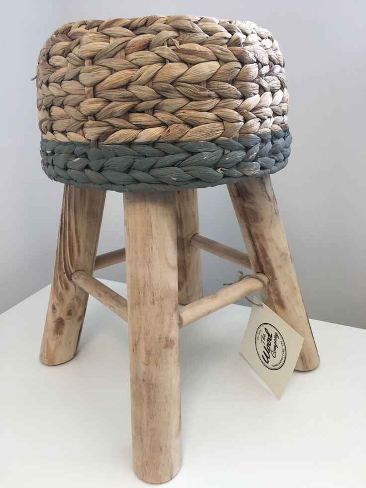 Stołek pleciony - The Wood Company - Producent mebli drewnianych