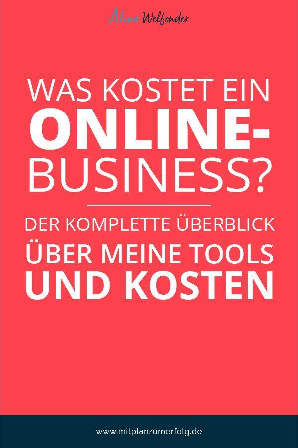 Was kostet ein Online-Business? Der komplette Überblick über meine Tools und Kosten