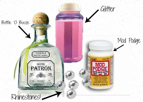"Great gift idea! Especially for my 8-5 M-F friends! Brought to you by ""Stress Case: Adventures in Pinterest: Another Alcoholic Gift"""