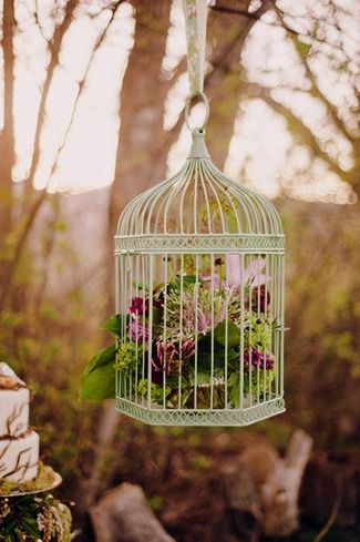 24 DIY Love Birds Wedding Theme Ideas | Confetti Daydreams--- put up around the area or guest book table
