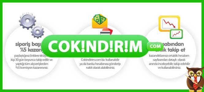 Cokindirim.com satış ortaklığı | Ek İş Fikirleri
