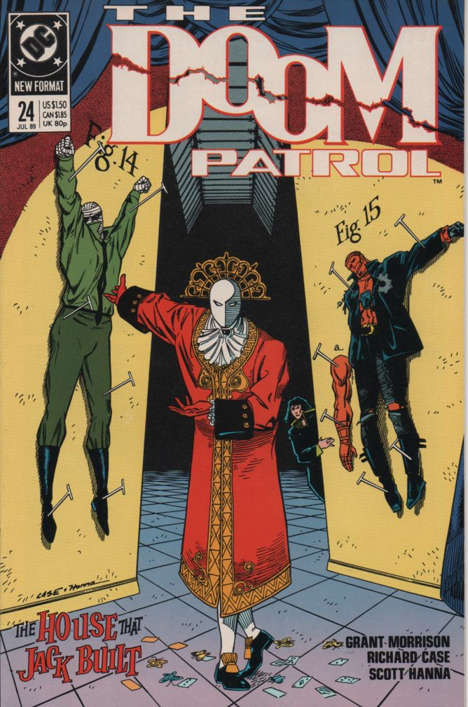 The Doom Patrol (Vol. 2) #24--Red Jack/Jack the Ripper