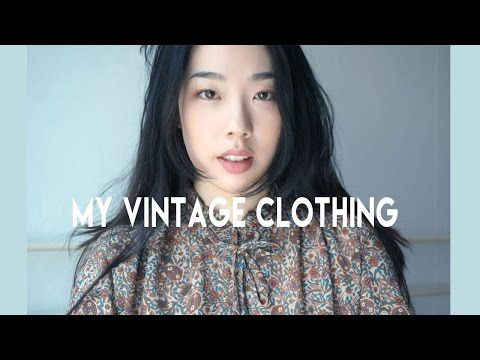 """My Vintage Clothing  Hello, Guys!! I'm back with another video! I put extra effort into this video because I loveee my vintage clothing lol. I decided not to add subtitles """"IN"""" the video, but I added subtitles through Youtube so you guys can click on the CC button for..."""
