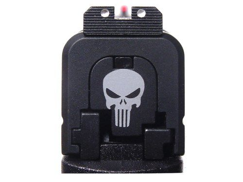 Mario Bullet 2 - Engraved Rear Slide Cover Plate For Springfield Armory XDs 9mm .45acp By NDZ Performance