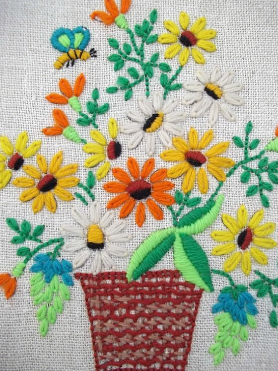 crewel embroidery pinterest - Buscar con Google