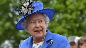 The Queen is visiting Leeds as part of her Diamond Jubilee tour of the UK.