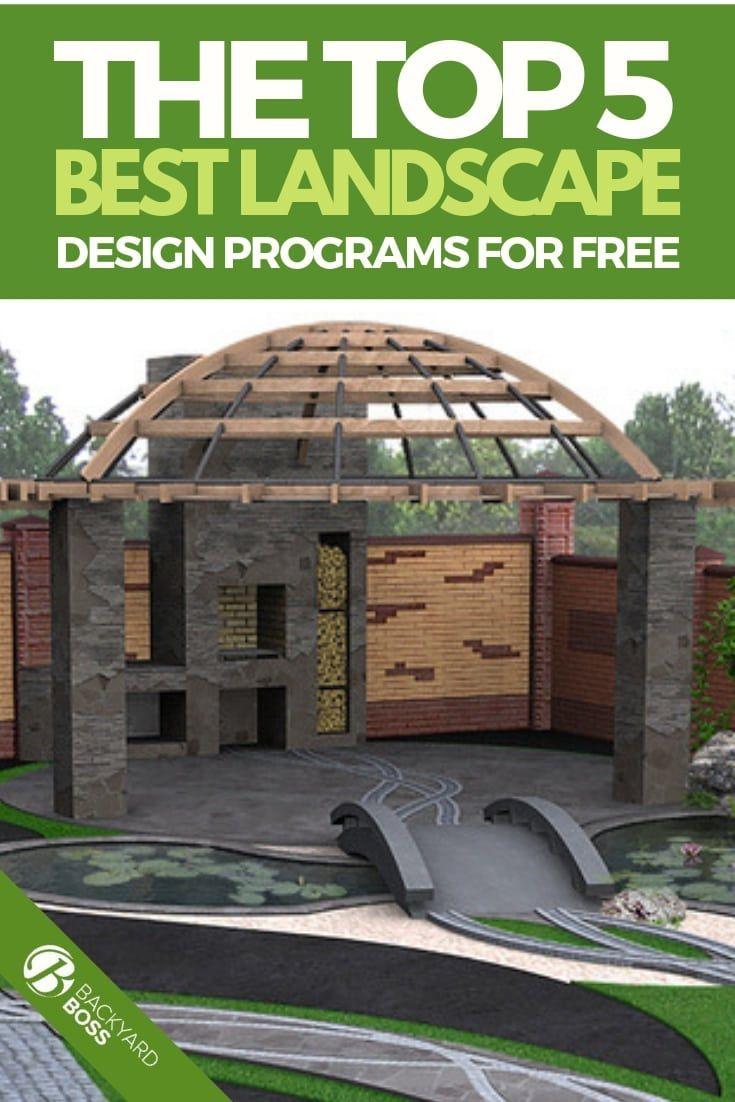 The Top 5 Best Landscape Design Programs For Free Landscape Design Program Landscape Design Software Free Landscape Design Software