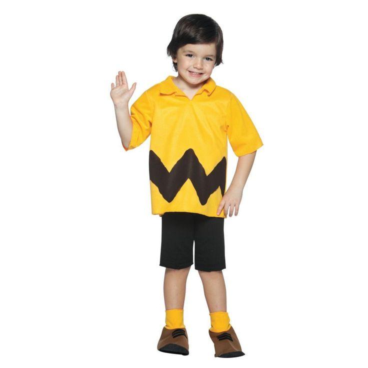 peanuts charlie brown kit boys halloween costume