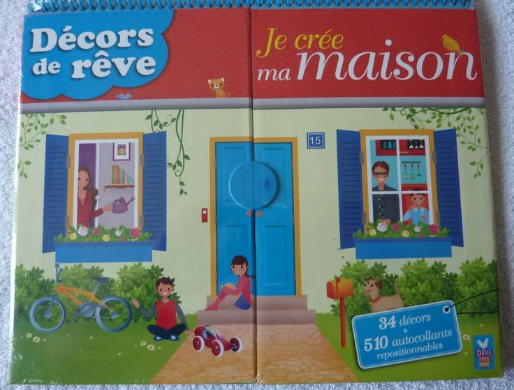 Livre decors de reve je cree ma maison livre pinterest for Cree ma maison en 3d