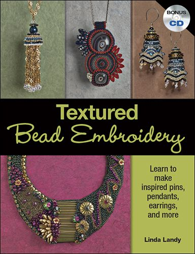 Textured Bead Embroidery (+CD) - Jewelry Store