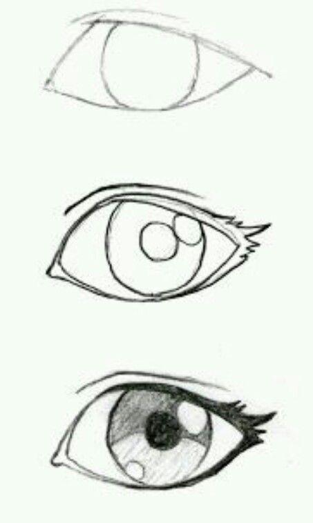 How to draw an anime eyr