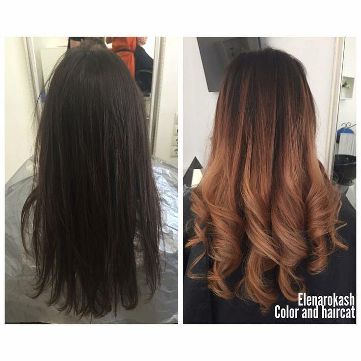 MATRIX Осветление в технике балаяж Ligt Master 9 % и 12%. Далее на сухие волосы Color Synk Окс 2.7%,корень 4 N, ср. ч 6 Mg+8Mg концы 8 Mg+ 10 M