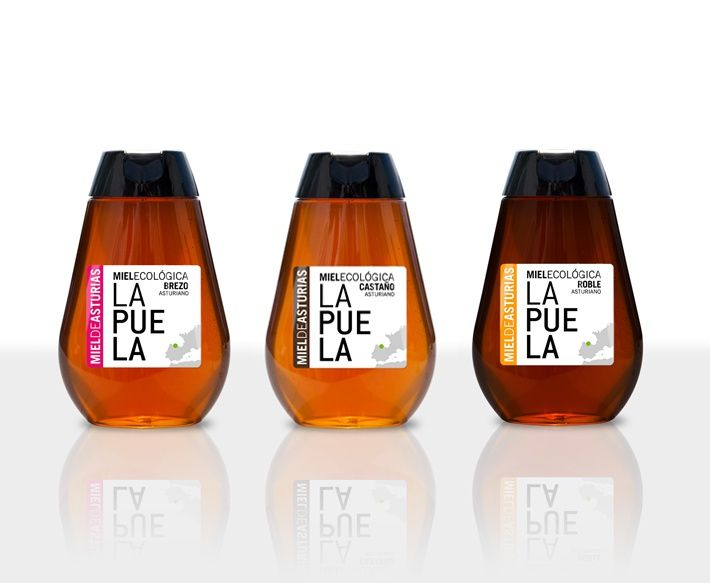 CONSUMA Diseño con vida. Etiquetado y Packaging. Miel Ecológica Floral.