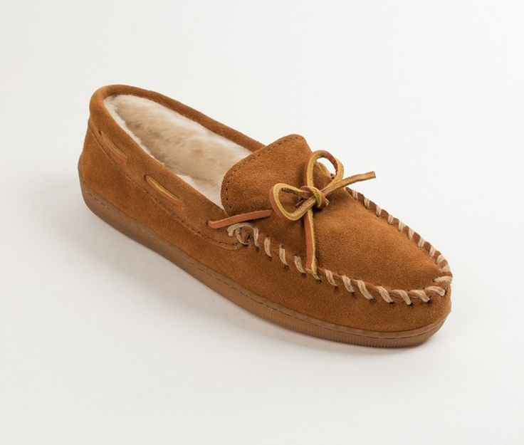 ULTIMATE HOUSE SHOES Timeless style meets classic comfort. These moccasins redefine the use of slippers. The hardsole makes these moccasins just as good for running errands as kicking back on the couc