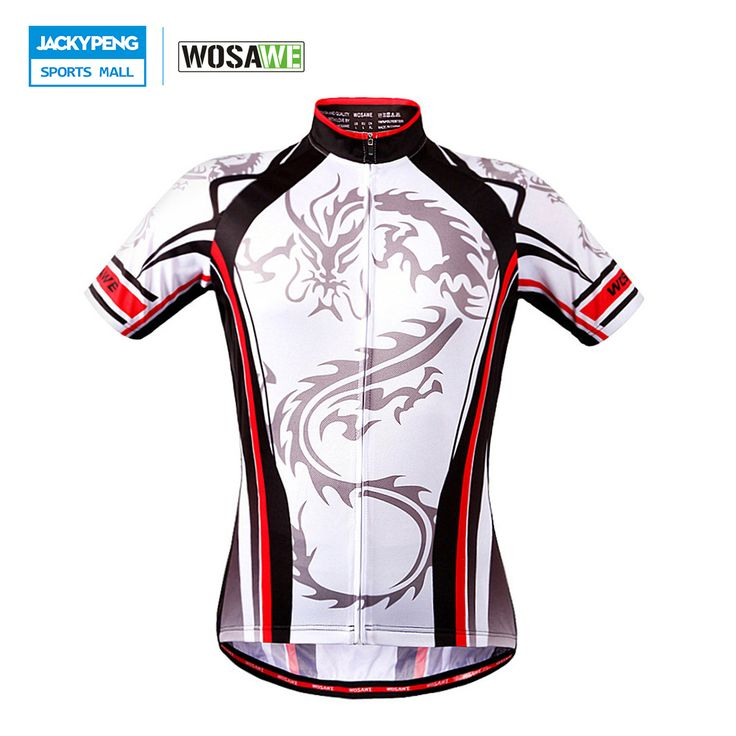 WOSAWE Summer Cycling Jersey Men MTB Road Bike Bicycle Clothing Breathable  Outdoor Sports Short Sleeve T e1a8135f6