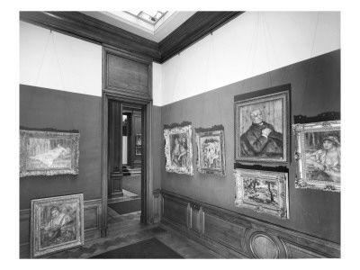Exposition Renoir à la Galerie Paul Rosenberg en 1934