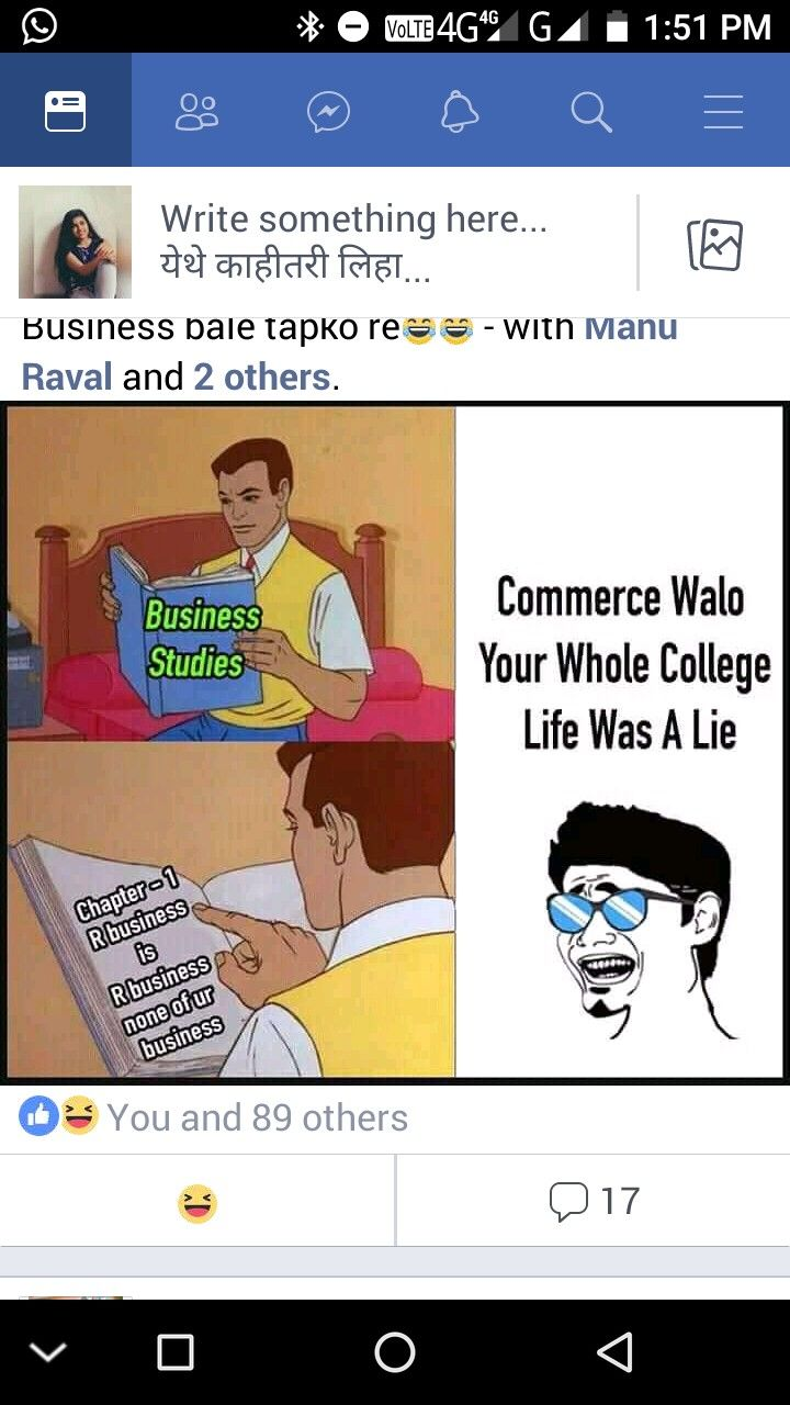 Pin By Nupur Dhomne On True Bt Funnies College Life Business Studies Short Stories