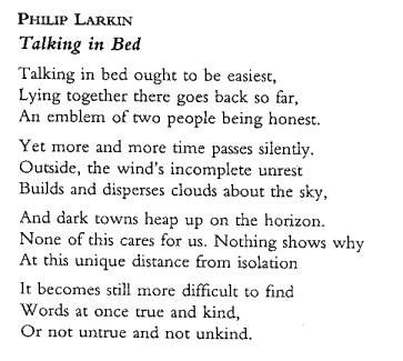 an analysis of the poem the plight of the toads by philip larkin Philip larkin analysis homework help other literary forms like many of philip larkin's poems, the trees focuses on issues of life, death, and mutability.