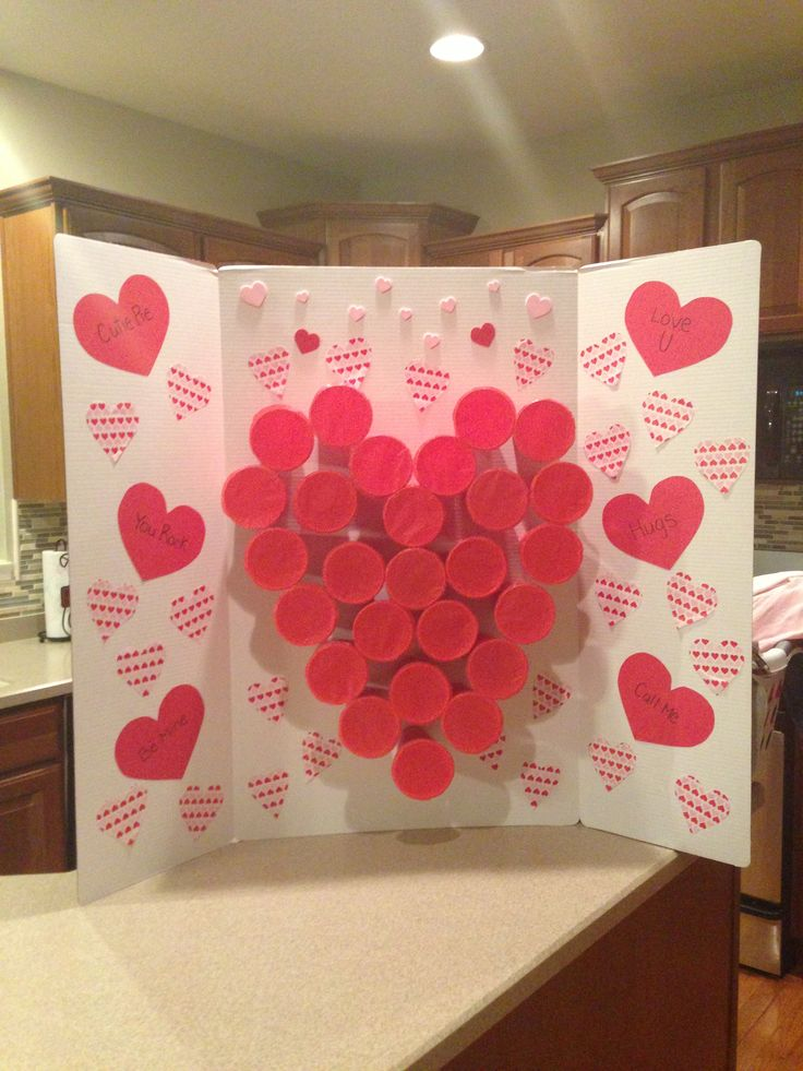Valentines Party, Punch A Prize! Super Easy!