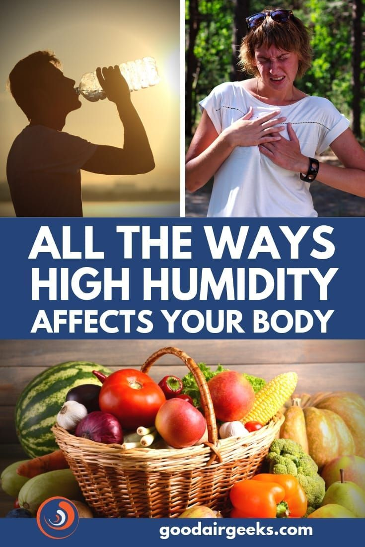 The Effects Of High Humidity On The Body High Humidity Humidity