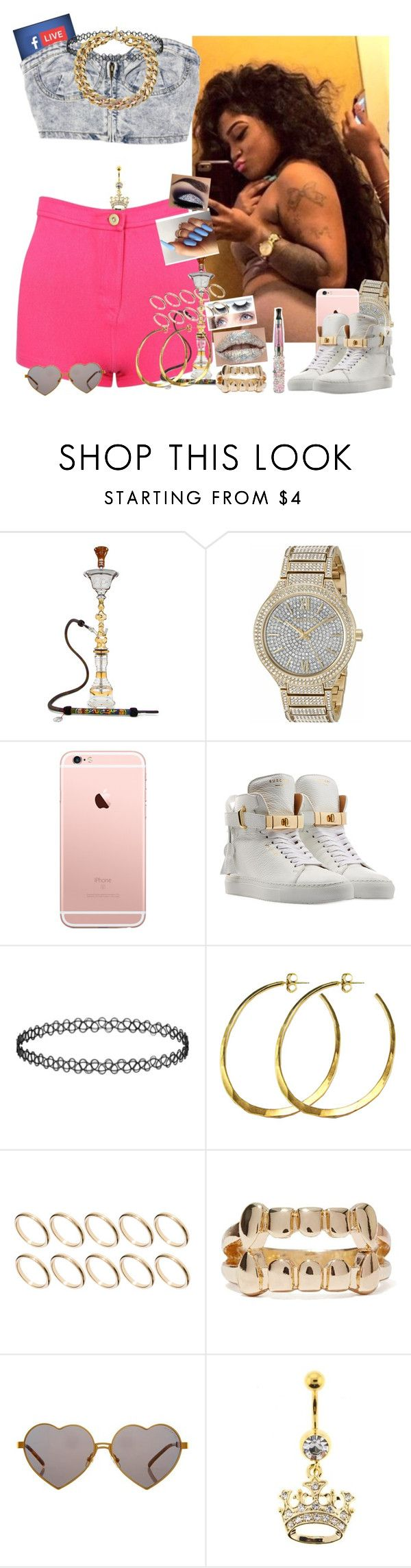 """💕✔️💸🍃💜💙😘🔥😉"" by saucinonyou999 ❤ liked on Polyvore featuring Michael Kors, BUSCEMI, Rebecca Norman, ASOS and Wildfox"