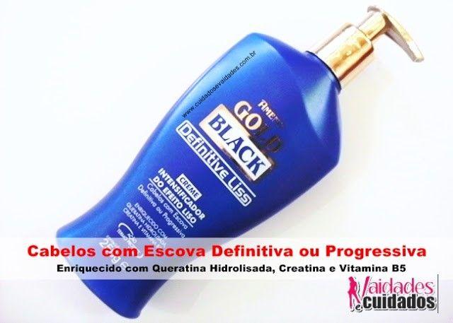 Amend Gold Black - Creme Intensificador do Efeito Liso - Cuidados e Vaidades http://www.cuidadosevaidades.com.br/2012/06/testei-amend-creme-intensificador-do.html