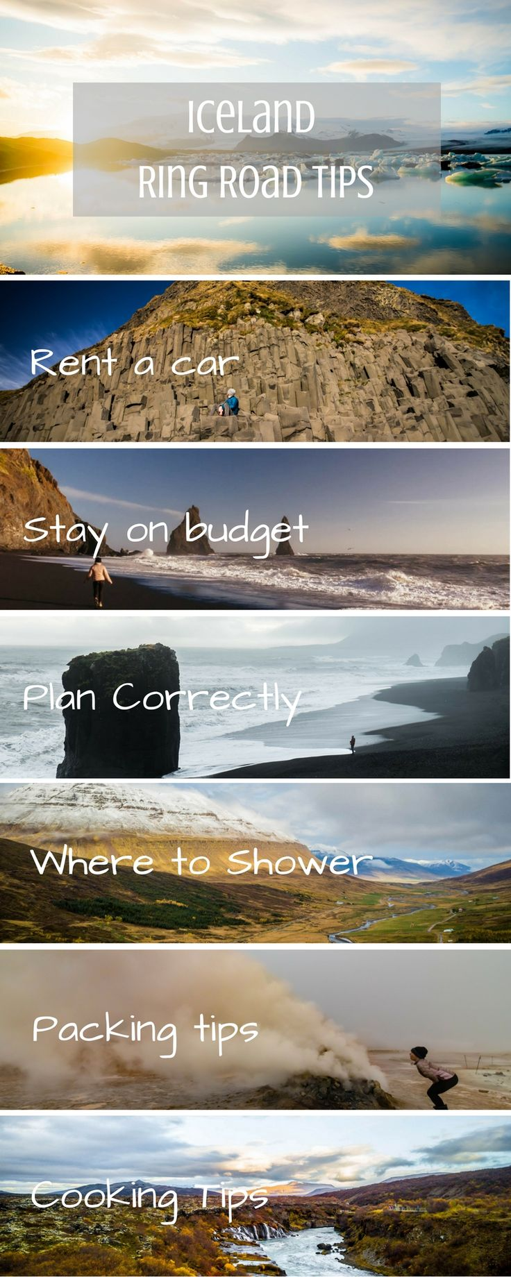 These are some of the best tips for those who travel to Iceland. If you are road tripping and camping this guide is for you.
